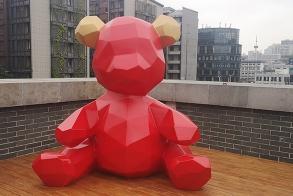 福州东百卡通雕塑