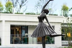 福四中锻铜雕塑