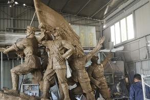 树脂人物雕塑