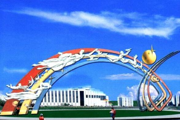 福州不锈钢雕塑制作