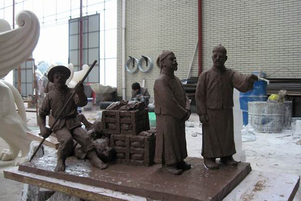 福州人物雕塑