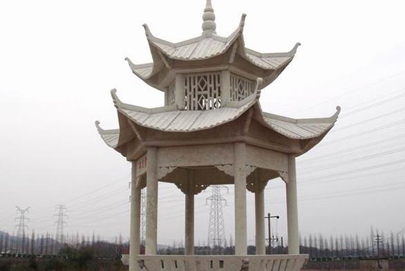 福州石雕凉亭