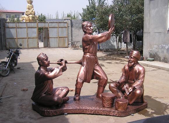 福州人物雕塑设计