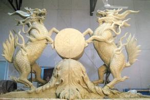 福建砂岩雕塑