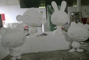 宁德玻璃钢烤漆雕塑