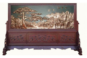 漳州铜壁画