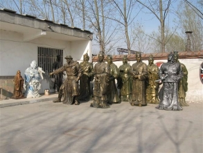 三明玻璃钢雕塑公司
