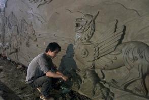 莆田砂岩雕塑设计