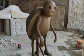 莆田砂岩卡通雕塑