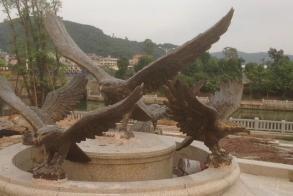 福建铜雕塑